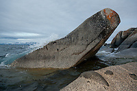 """Boulders at Lake Tahoe 33"" - These boulders were photographed in the early morning near Speedboat Beach, Lake Tahoe."