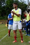 Norbert Kirschner #5 of VfR Mannheim im Spiel des VfR Mannheim - FC Germania Friedrichstal.<br /> <br /> Foto &copy; P-I-X.org *** Foto ist honorarpflichtig! *** Auf Anfrage in hoeherer Qualitaet/Aufloesung. Belegexemplar erbeten. Veroeffentlichung ausschliesslich fuer journalistisch-publizistische Zwecke. For editorial use only.
