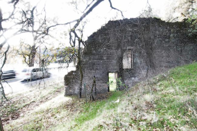 Historic building on Silverado Trail