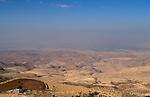 Jordan, the view West of Mount Nebo towards the Jordan Valley&amp;#xA;<br />