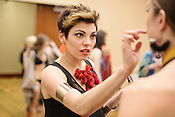 Alyson Painter, backstage at Redress Raleigh, 5th Annual Eco-Fashion Show, Saturday, March 23, 2013.