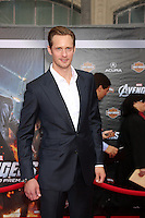 "LOS ANGELES - APR 11:  Alexander Skarsgård arrives at ""The Avengers"" Premiere at El Capitan Theater on April 11, 2012 in Los Angeles, CA"