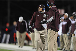 Ole Miss vs. Mississippi State Coach Dan Mullen at Vaught Hemingway Stadium in Oxford, Miss. on Saturday, November 24, 2012. Ole Miss won 41-24.