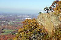 Mountain scenes in the Blue Ridge Mountains.