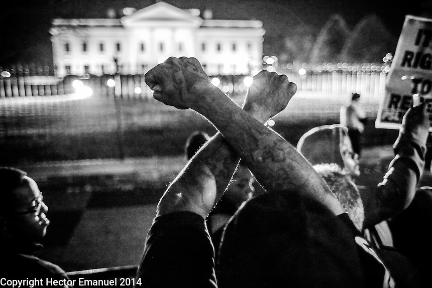 Washington DC Ferguson protest