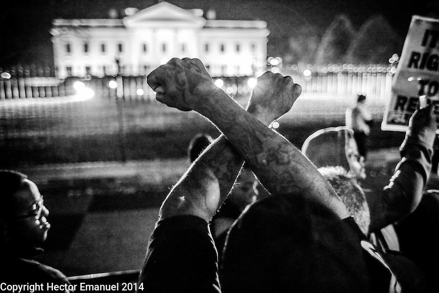 Washington DC Ferguson protest