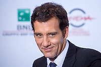 OCT 17 Clive Owen attends the 'The Knick' Photocall during the 9th Rome Film Festival