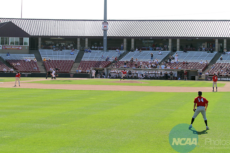 31 MAY 2011: Roarke Anderson (31) of Chapman University pitches ...
