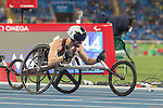 RIO DE JANEIRO - 9/9/2016:  Brent Lakatos wins gold in the Men's 100m - T53 Final in the Olympic Stadium during the Rio 2016 Paralympic Games. (Photo by Matthew Murnaghan/Canadian Paralympic Committee