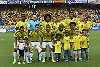 BARRANQUILLA -COLOMBIA, 23-MARZO-2017.Team of Colombia agaisnt Bolivia. Action game between Colombia and Bolivia   during match for the qualifiers for the World Cup of Soccer Russia 2018 played in the  Metropolitano Roberto Melendez stadium in Barranquilla . Photo:VizzorImage / Felipe Caicedo  / Staff