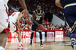 25 January 2015: Notre Dame's Jerian Grant (22). The North Carolina State University Wolfpack played the University of Notre Dame Fighting Irish in an NCAA Division I Men's basketball game at the PNC Arena in Raleigh, North Carolina. Notre Dame won the game 81-78 in overtime.