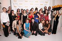 Pratt Institute Communications and Marketing members, pose together at the Pratt 2011 fashion show and cocktail reception, honoring Hamish Bowles, April 27 2011.