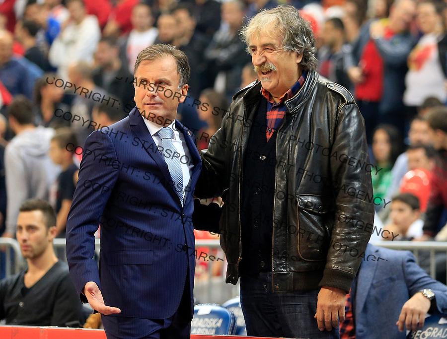 Kosarka Euroleague season 2015-2016<br /> Euroleague <br /> Crvena Zvezda v Fenebahce Istanbul<br /> Vladimir Androic (L) and Branko Kovacevic<br /> Beograd, 06.11.2015.<br /> foto: Srdjan Stevanovic/Starsportphoto &copy;