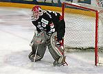 Deutscher Eishockey Pokal 2003/2004 , Halbfinale, Arena Nuernberg (Germany) Nuernberg Ice Tigers - Koelner Haie (1:3) Leonhard Wild (Koeln) im Tor