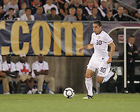USA forward Herculez Gomez (30). In the Send Off Series, the Czech Republic defeated the US men's national team, 4-2, at Rentschler Field in East Hartford, Connecticut, on May 25, 2010.