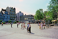 Braunschweig: The Kolmarkt. Photo '87.
