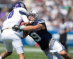 _88R4805..2012 FTB vs Weber State University..BYU - 45.Weber State - 6. .Photo by Jaren Wilkey/BYU..September 8, 2012..© BYU PHOTO 2012.All Rights Reserved.photo@byu.edu  (801)422-7322
