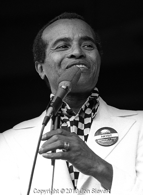 "Jon Hendricks, Sept 1974, American jazz lyricist and singer. He is considered one of the originators of vocalese, which adds lyrics to existing instrumental songs and replaces many instruments with vocalists. He is considered one of the best practitioners of scat singing, which involves vocal jazz soloing. Jazz critic and historian Leonard Feather called him the ""Poet Laureate of Jazz"""