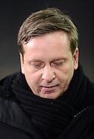 FUSSBALL   1. BUNDESLIGA  SAISON 2012/2013   21. Spieltag  FC Bayern Muenchen - FC Schalke 04                     09.02.2013 Horst Heldt (FC Schalke 04)