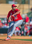 4 March 2016: St. Louis Cardinals pitcher Juan Gonzalez on the mound during a Spring Training pre-season game against the Houston Astros at Osceola County Stadium in Kissimmee, Florida. The Cardinals fell to the Astros 6-3 in Grapefruit League play. Mandatory Credit: Ed Wolfstein Photo *** RAW (NEF) Image File Available ***