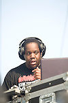 DJ Evil Dee at the 8th Annual Rock The Bells Held on Governors Island, NY  9/3/11