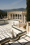 California, San Luis Obispo County: Hearst Castle State Park, formerly the palatial hillside home of publisher William Randoph Hearst.  Swimming pool..Photo caluis212-70936..Photo copyright Lee Foster, www.fostertravel.com, 510-549-2202, lee@fostertravel.com