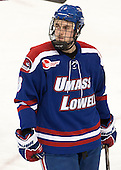 Colin Wright (UML - 8) - The University of Massachusetts Lowell River Hawks defeated the Boston College Eagles 4-2 (EN) on Tuesday, February 26, 2013, at Kelley Rink in Conte Forum in Chestnut Hill, Massachusetts.