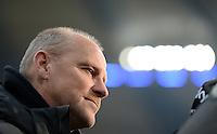 FUSSBALL   1. BUNDESLIGA   SAISON 2012/2013    19. SPIELTAG Hamburger SV - SV Werder Bremen                          27.01.2013 Trainer Thomas Schaaf (SV Werder Bremen)