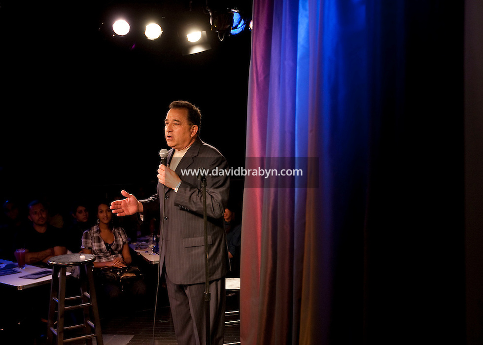 Comedian Jimmy Goson performs in the 6th Annual NY Arab-American Comedy Festival in New York, USA, 13 May 2009.
