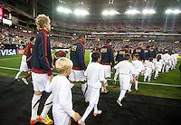 Phoenix, AZ - Saturday, January 21, 2012: USA Men's national team defeats Venezuela 1-0, at the University of Phoenix Stadium.