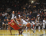 Ole MIss forward Reginald Buckner (2) is fouled by Georgia's Donte' Williams (15)  at the C.M. &quot;Tad&quot; Smith Coliseum in Oxford, Miss. on Saturday, January 15, 2011. Georgia won 98-76.  (AP Photo/Oxford Eagle, Bruce Newman)