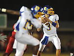 Oxford High's Parker Adamson (3) passes vs. Lafayette High at William L. Buford Stadium in Oxford, Miss. on Friday, September 2, 2011. Lafayette won 40-12
