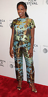 NEW YORK, NY - April 21: Samira Wiley attends the premiere of 'The Handmaid's Tale' during Tribeca Film Festival at BMCC Tribeca PAC on April 21, 2017 in New York City.@John Palmer / Media Punch