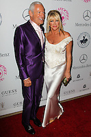 BEVERLY HILLS, CA, USA - OCTOBER 11: Alan Hamel, Suzanne Somers arrive at the 2014 Carousel Of Hope Ball held at the Beverly Hilton Hotel on October 11, 2014 in Beverly Hills, California, United States. (Photo by Celebrity Monitor)