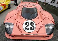 "Porsche 917-20, ""Pink Pig"" on display at the Rennsport Reunion, Daytona INternational Speedway, Daytona Beach, FL, November 2007.  (Photo by Brian Cleary/www.bcpix.com)"