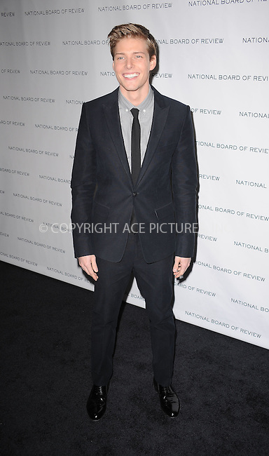 WWW.ACEPIXS.COM . . . . . ....January 12 2010, New York City....Actor Hunter Parrish arriving at the National Board of Review of Motion Pictures Awards gala at Cipriani 42nd Street on January 12, 2010 in New York City.....Please byline: KRISTIN CALLAHAN - ACEPIXS.COM.. . . . . . ..Ace Pictures, Inc:  ..(212) 243-8787 or (646) 679 0430..e-mail: picturedesk@acepixs.com..web: http://www.acepixs.com