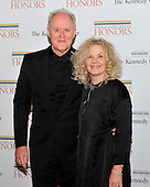 John Lithgow and his wife, Dr. Mary Yeager Lithgow arrive for the formal Artist's Dinner honoring the recipients of the 2011 Kennedy Center Honors hosted by United States Secretary of State Hillary Rodham Clinton at the U.S. Department of State in Washington, D.C. on Saturday, December 3, 2011. The 2011 honorees are actress Meryl Streep, singer Neil Diamond, actress Barbara Cook, musician Yo-Yo Ma, and musician Sonny Rollins..Credit: Ron Sachs / CNP