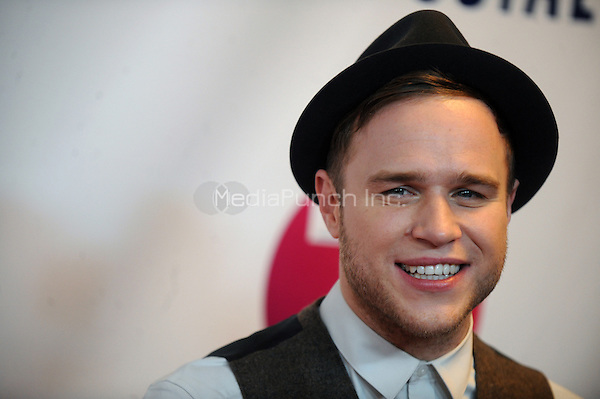 NEW YORK, NY - DECEMBER 07: Olly Murs at Z100's Jingle Ball 2012, presented by Aeropostale, at Madison Square Garden on December 7, 2012 in New York City. Credit: mpi01/MediaPunch Inc.