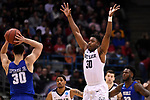 MILWAUKEE, WI - MARCH 18: Butler Bulldogs forward Kelan Martin (30) attempts to break up a pass during the second half of the 2017 NCAA Men's Basketball Tournament held at BMO Harris Bradley Center on March 18, 2017 in Milwaukee, Wisconsin. (Photo by Jamie Schwaberow/NCAA Photos via Getty Images)