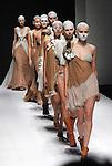 Malaysian designer Daniel Chong presents Romanticism of The Red Shoes at the Bangkok International Fashion Week.