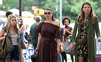 NEW YORK, NY-June 20: Tessa Albertson, Debi Mazar, Sutton Foster shooting on location for TV LAND Younger in New York. NY June 20, 2016. Credit:RW/MediaPunch