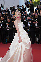 Elle Fanning at the premiere for &quot;Ismael's Ghosts&quot; at the opening ceremony of the 70th Festival de Cannes, Cannes, France. 17 May 2017<br /> Picture: Paul Smith/Featureflash/SilverHub 0208 004 5359 sales@silverhubmedia.com