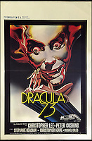 BNPS.co.uk (01202 558833)<br /> Pic: Cottees/BNPS<br /> <br /> Dracula 73 Belgian 1972 film poster, starring Christopher Lee and Peter Cushing.<br /> <br /> A horror fan has sold his chilling collection of cult movie posters - for a shocking &pound;25,000.<br /> <br /> The unnamed film buff collected over 100 posters that advertised scary movies like Dracula, Frankenstein, The Wicker Man and the Hammer Horror franchise.<br /> <br /> He has now sold them at Cottees Auctions of Wareham, Dorset, with one rare Dracula poster fetching over &pound;5,000 alone.