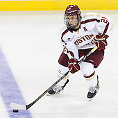 Steven Whitney (BC - 21) - The Boston College Eagles defeated the visiting University of Massachusetts Lowell River Hawks 6-3 on Sunday, October 28, 2012, at Kelley Rink in Conte Forum in Chestnut Hill, Massachusetts.