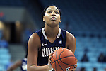 14 November 2012: Georgetown's Vanessa Moore. The University of North Carolina Tar Heels played the Georgetown University Hoyas at Carmichael Arena in Chapel Hill, North Carolina in an NCAA Division I Women's Basketball game, and a semifinal in the Preseason WNIT. UNC won the game 63-48.