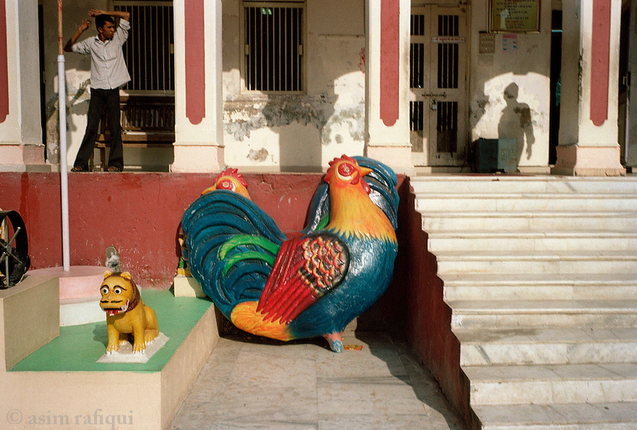 The Bahuchara Mata shrine, Mehsana, Gujarat