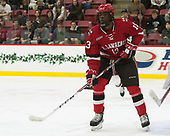 Woody Hudson (SLU - 13) - The Harvard University Crimson defeated the St. Lawrence University Saints 6-3 (EN) to clinch the ECAC playoffs first seed and a share in the regular season championship on senior night, Saturday, February 25, 2017, at Bright-Landry Hockey Center in Boston, Massachusetts.