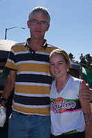 Walter and Allison   attend the activities at the Occupy Orange County, Irvine camp on November 5.