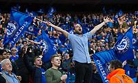 Chelsea fans celebrate their sides victory       <br /> <br /> <br /> Photographer Craig Mercer/CameraSport<br /> <br /> Emirates FA Cup Semi-Final - Chelsea v Tottenham Hotspur - Saturday 22nd April 2017 - Wembley Stadium - London<br />  <br /> World Copyright &copy; 2017 CameraSport. All rights reserved. 43 Linden Ave. Countesthorpe. Leicester. England. LE8 5PG - Tel: +44 (0) 116 277 4147 - admin@camerasport.com - www.camerasport.com