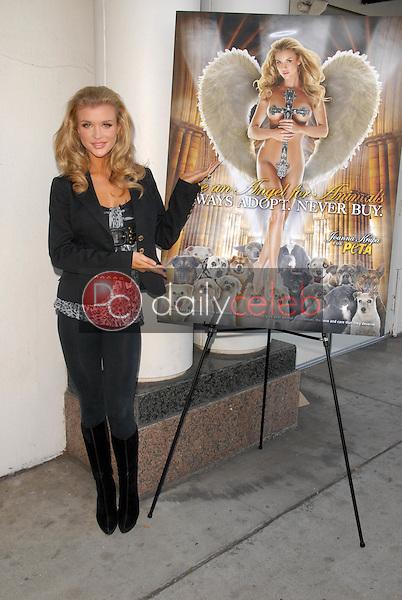 Joanna Krupa<br /> Unveils her &quot;Angelic Side&quot; in PETA Ad, Westside Pavilion, Los Angeles, CA. 12-01-09<br /> David Edwards/Dailyceleb.com 818-249-4998